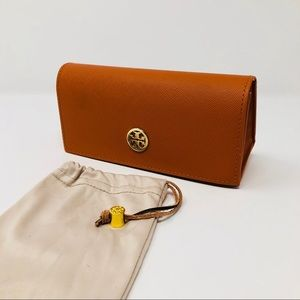 TORY BURCH SUNGLASSES CASE & POUCH